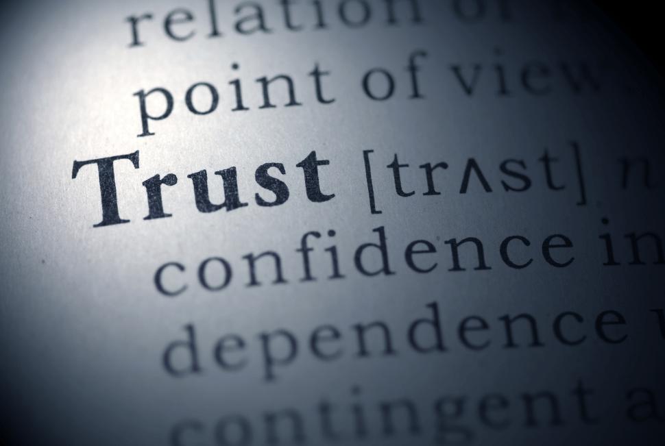Vertrouwen moet je verdienen